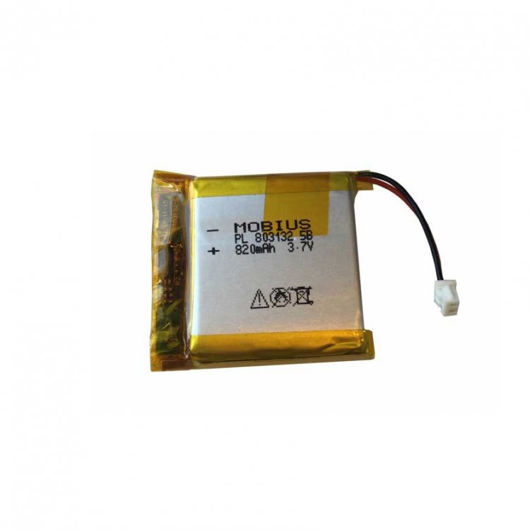 Replacement battery 820mAh - Click Image to Close