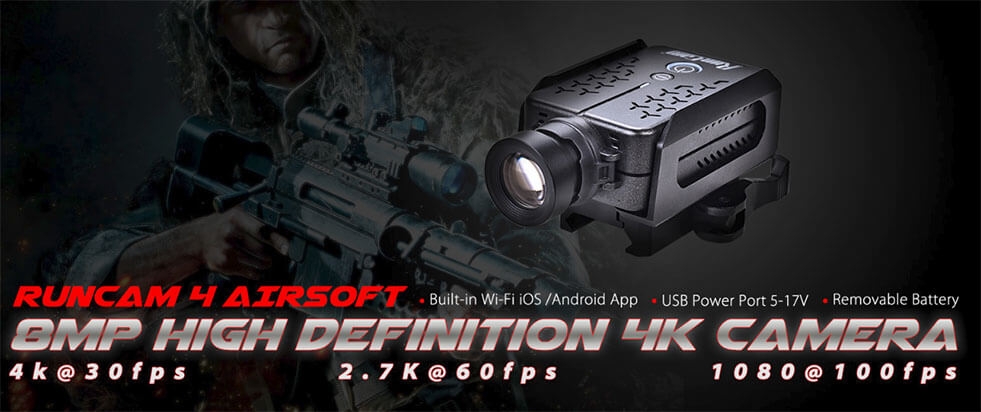 RunCam 4 Airsoft Version